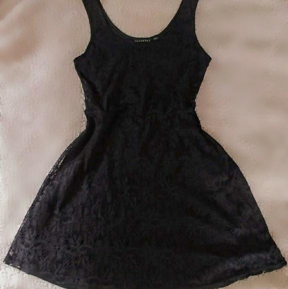 Metaphor Dresses & Skirts - Petite black lace sleeveless dress